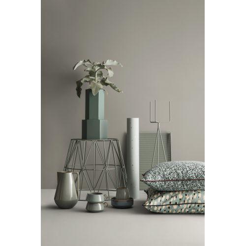 Kovový stojan na květník Grey - menší