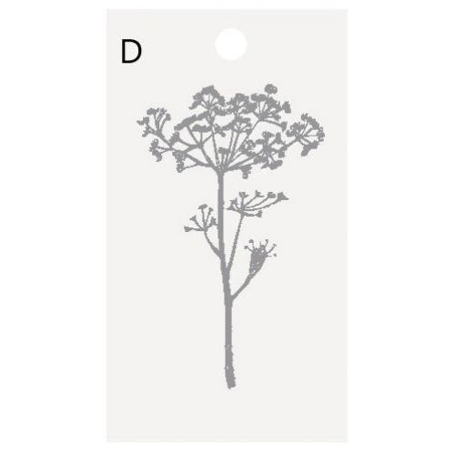 Štítek na dárek Flower/Clover Motives