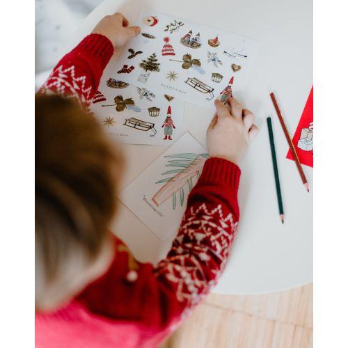 Samolepky Vánoční Hygge Manifest (limitovaná edice)