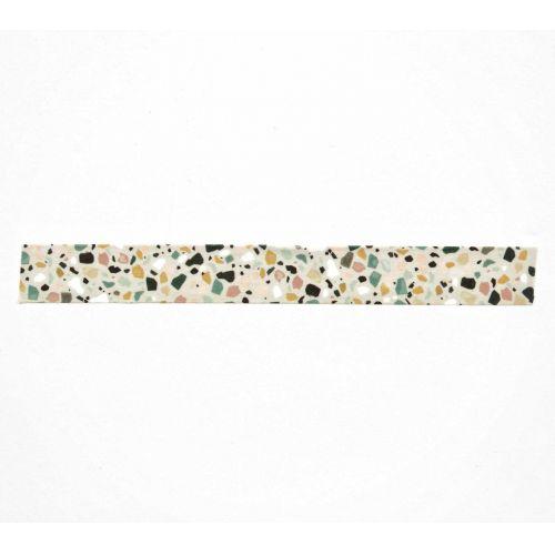 Papírová lepicí páska Terrazzo