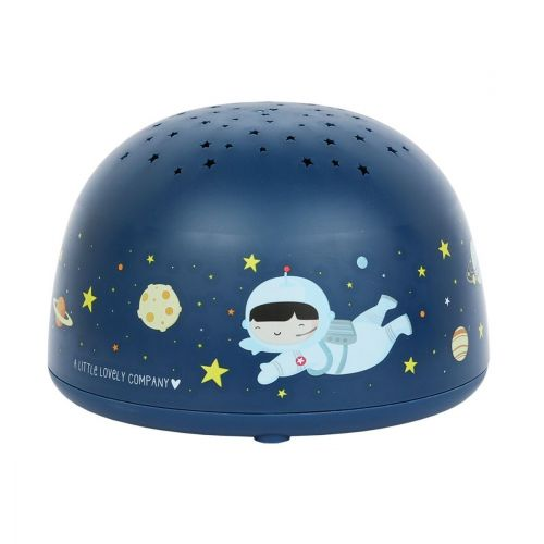 Dětská LED lampička s projektorem noční oblohy Space