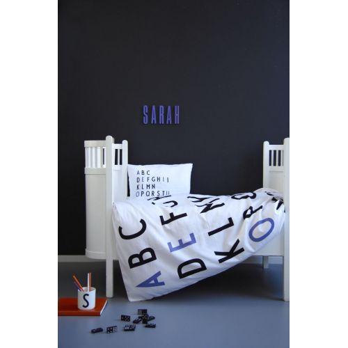 Dětské povlečení Letters Purple