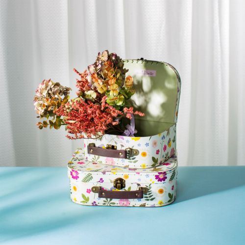 Kufřík Flowers - 2 velikosti