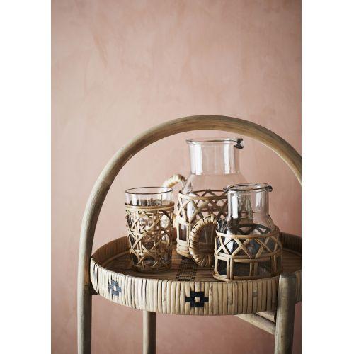 Bambusový odkládací stolek Natural