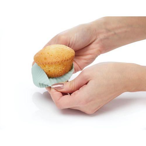 Silikonové cukrářské košíčky ø 7cm - 12 ks