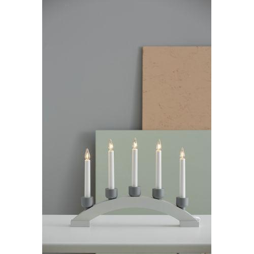 Elektrický svícen Paint Stone