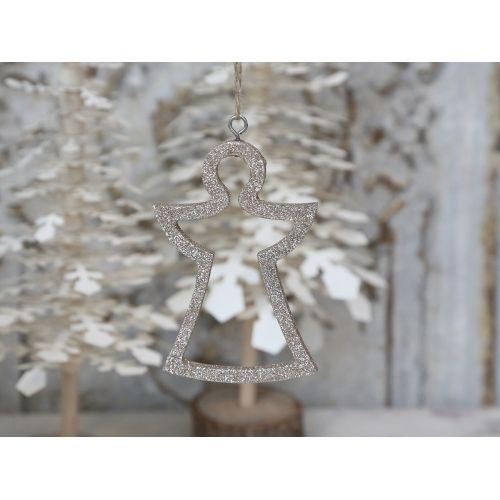 Vánoční ozdoba Glitter Angel