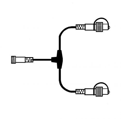 Rozbočovač na světelný řetěz