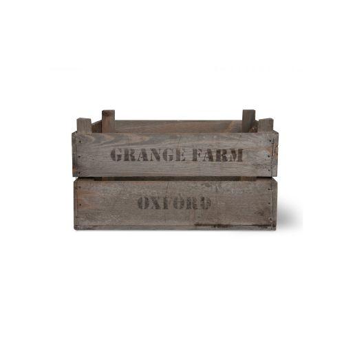 Dřevěná bedna Wooden Fruit Box