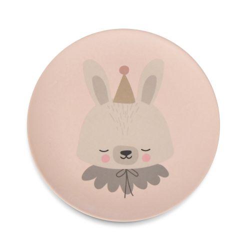 Bambusové nádobí pro děti Circus Bunny - set 5 ks