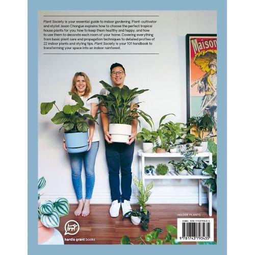 Kniha o pokojových rostlinách Plant Society
