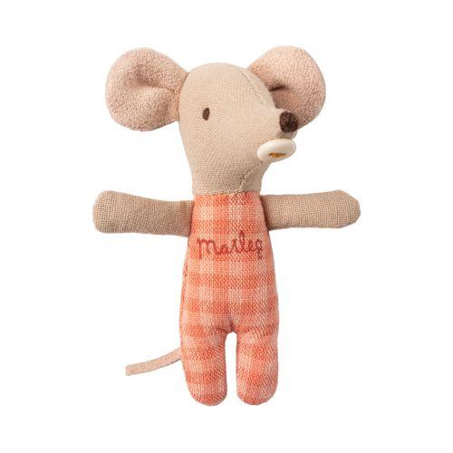 Myší miminko v zavinovačce Baby mouse Brown