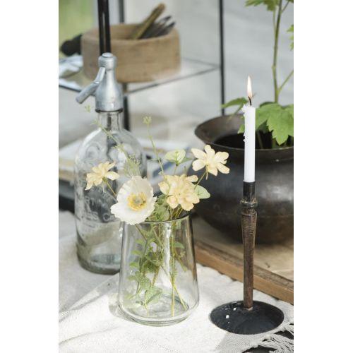 Skleněná váza Conical