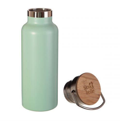 Nerezová lahev na vodu Mint Green 500 ml