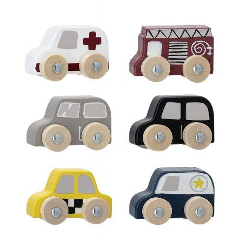 Dřevěná autíčka - set 6 ks
