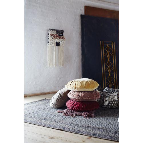Kulatý sametový polštář Velvet 46 cm