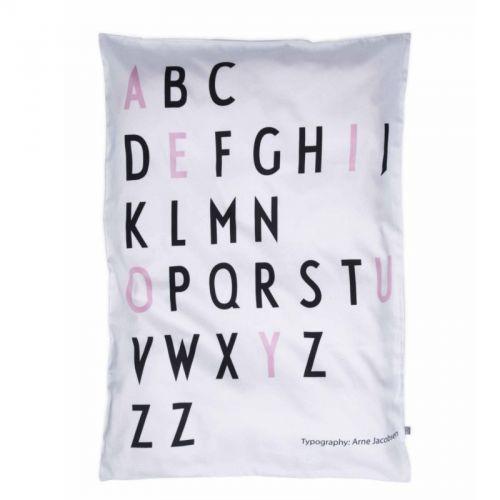 Povlečení Baby Letters Pink 70x100