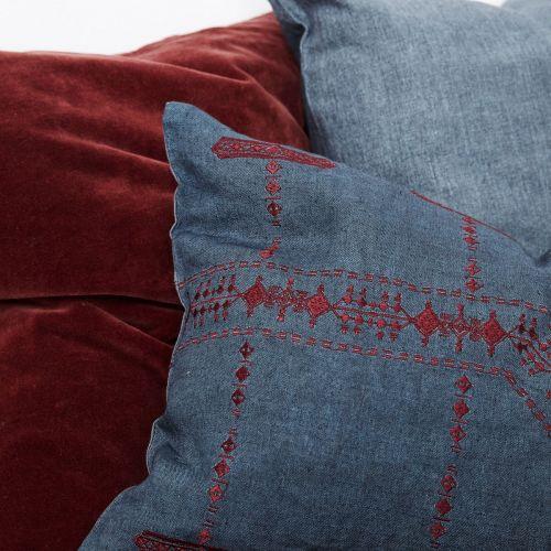 Povlak na polštář Inka Blue 50x30 cm