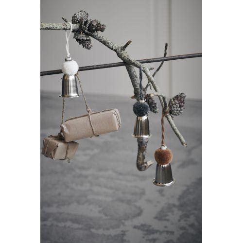 Kovový zvoneček Silver Bell