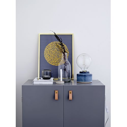 Porcelánová stolní lampa Blue