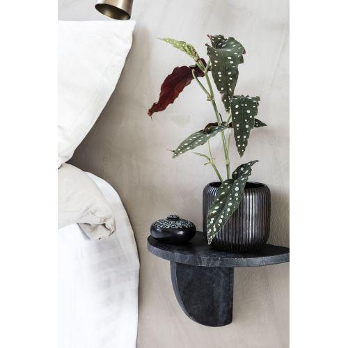 Skleněný obal na květináč Utla