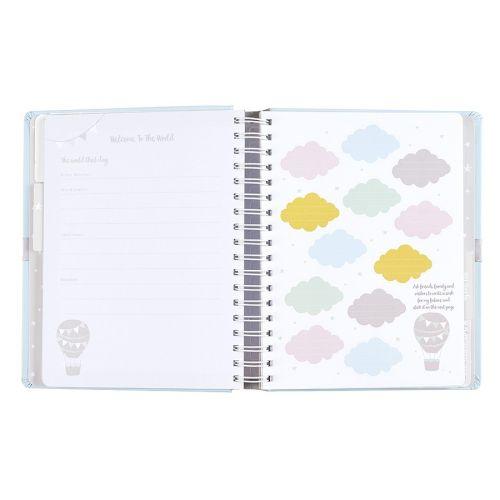 Deník miminka Baby B Blue