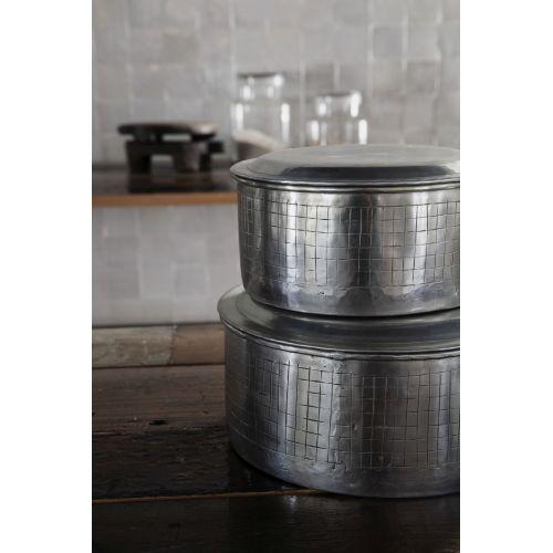 Hliníková dóza Noova Silver 20 cm