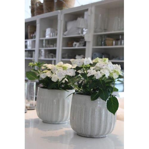 Keramický květník White Vietnam