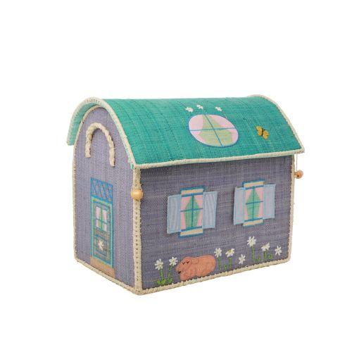 Dětský úložný koš Raffia House