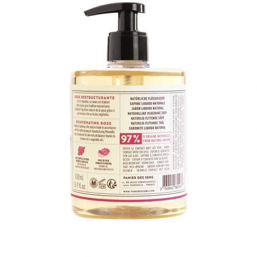 Omlazující tekuté mýdlo - růže
