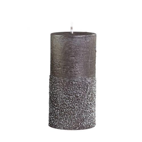 Svíčka Glitter Mocca 12cm