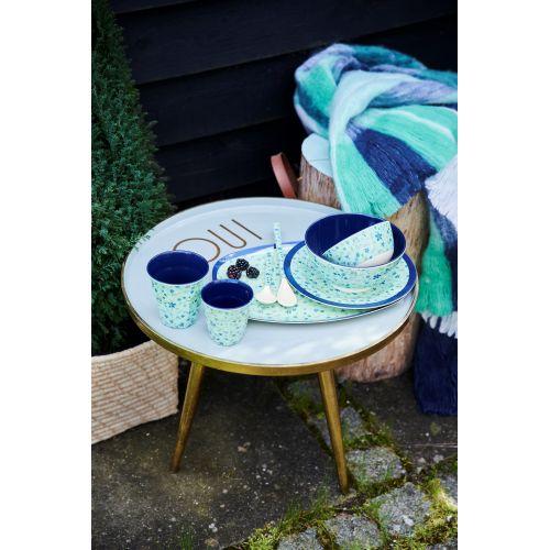 Melaminový talíř Blue Floral 20 cm