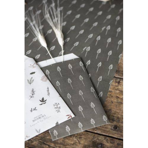 Papírový sáček Wild Wheat Autumn green XS