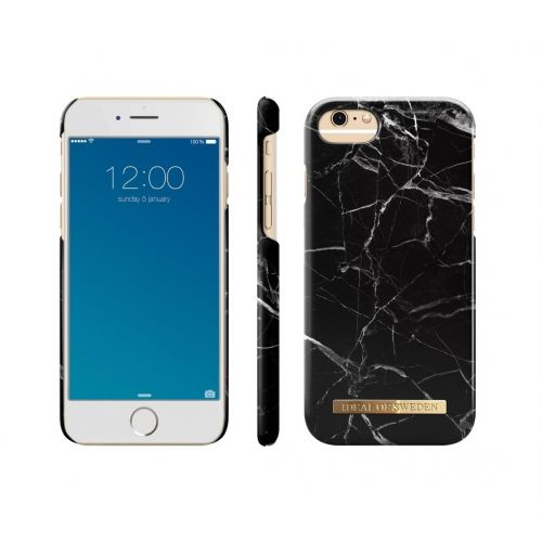 Kryt na iPhone 6/6s/7/8 iDeal of Sweden Black Marble