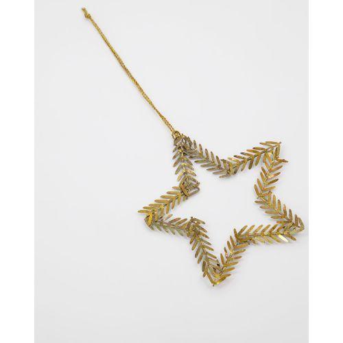 Vánoční ozdoba Lamet Brass - Star