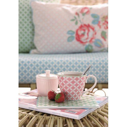 Porcelánová cukřenka Alice pale pink