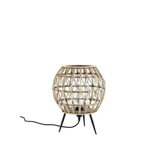 Ratanová stolní lampa Rattan