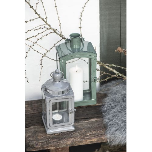 Skleněná lucerna Grey