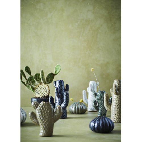 Kameninová vázička Cactus Green