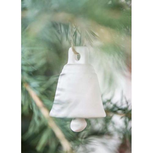 Porcelánový zvoneček White