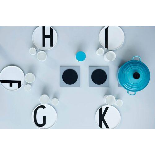 Porcelánový talíř Letters