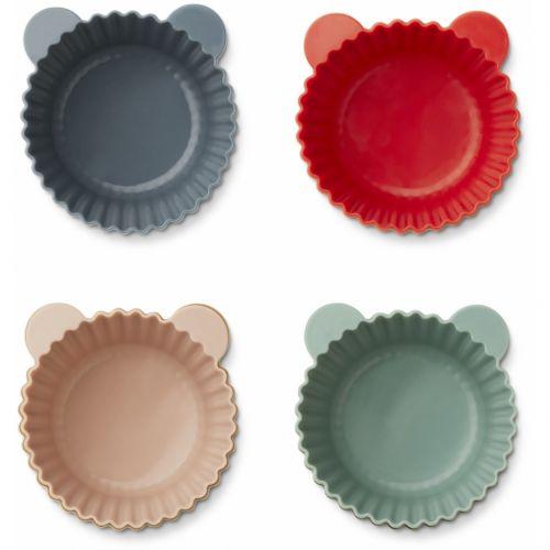 Silikonové formy na muffiny Multi mix - set 12 ks