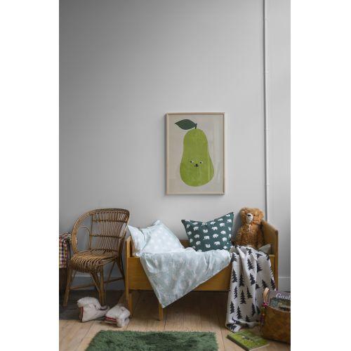 Dětské povlečení Björn Sage green 110x130 cm