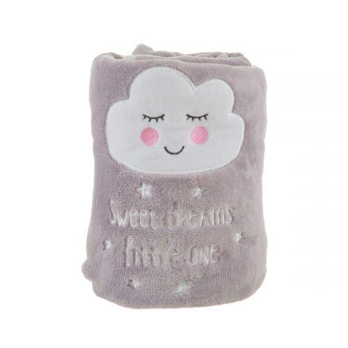 Dětská fleecova deka Sweet dreams 70x105cm