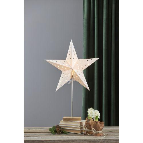 Svítící hvězda na stojánku Leo White