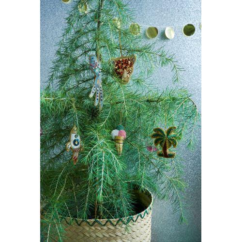 Závěsná vánoční dekorace Rocket Ornament