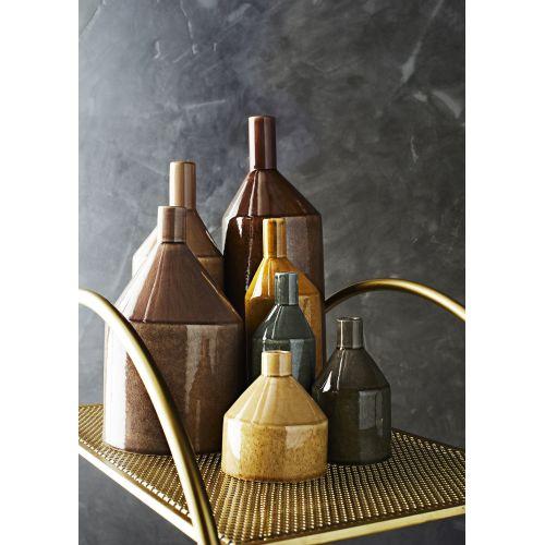 Keramická váza Stone Grey