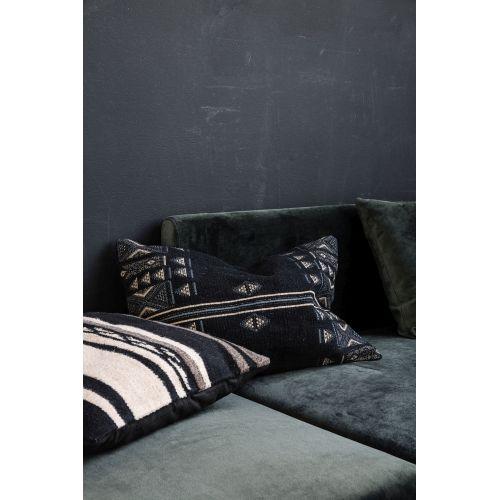 Povlak na polštář Unik Black 40x60 cm