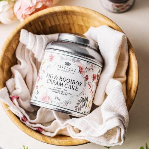 Ovocný čaj Tafelgut - Fig & Rooibos Cream Cake 130g