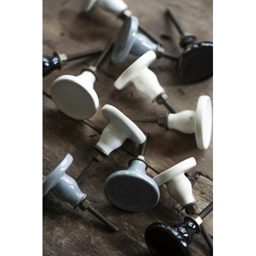 Keramická úchytka Handle Ceramic White